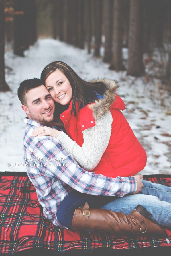Andrew and Lacie | Wauseon Engagement Photographer