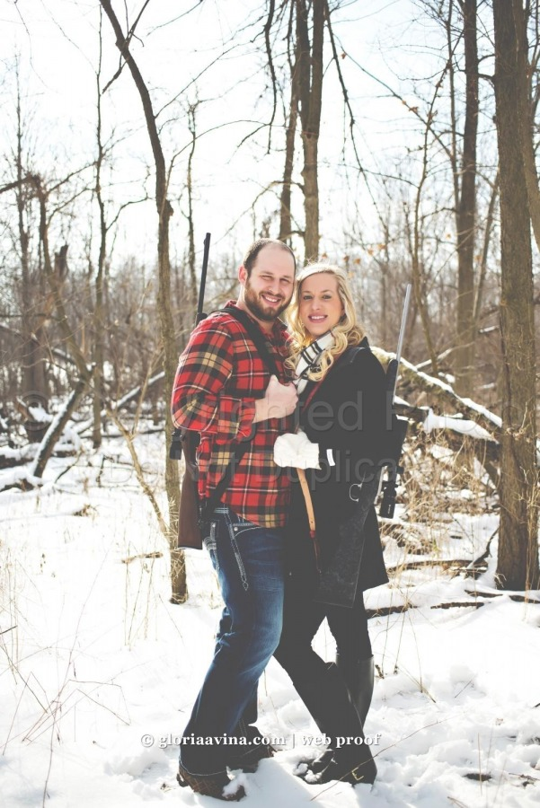 Joe & Jenna | Michigan engagement photographer