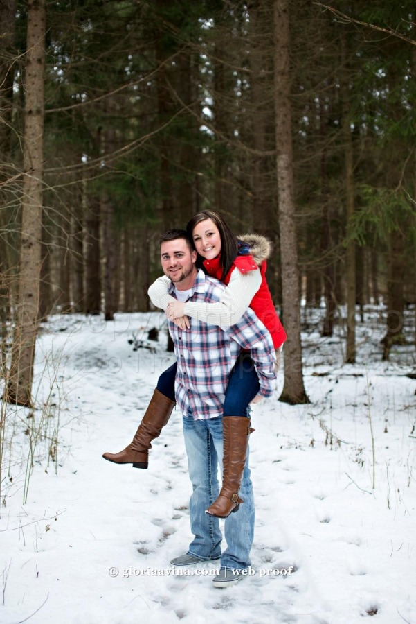 Andrew and Lacie | Wauseon Engagement Photography