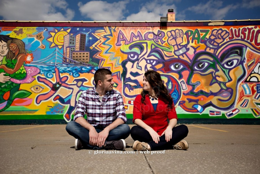 Terry and Jessica | Toledo Engagement photography