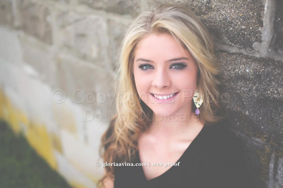 Alyson | Gloria Avina Photography Senior Model | Patrick Henry high school