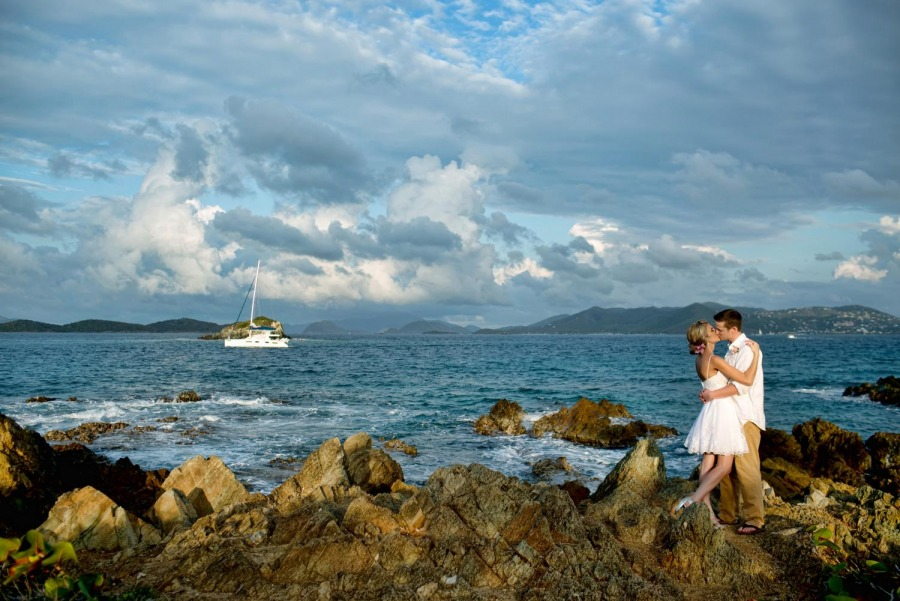St. Thomas Destination Wedding | Shaun + Jessica | St. Valentine's Day Wedding